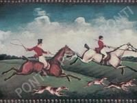 Декор Fox Hunting B (Two Riders) 15x20